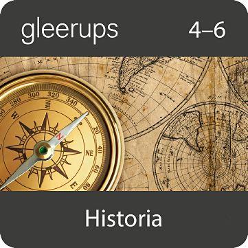 Gleerups historia 4-6, digital, elevlic, 12 mån