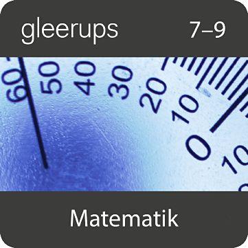 Gleerups matematik 7-9, elevlic, 12 mån
