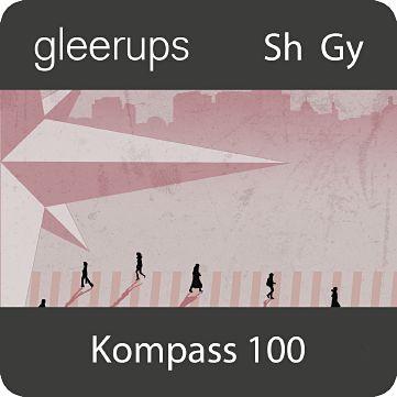 Kompass till samhällskunskap 100, digital, elevlic, 12 mån