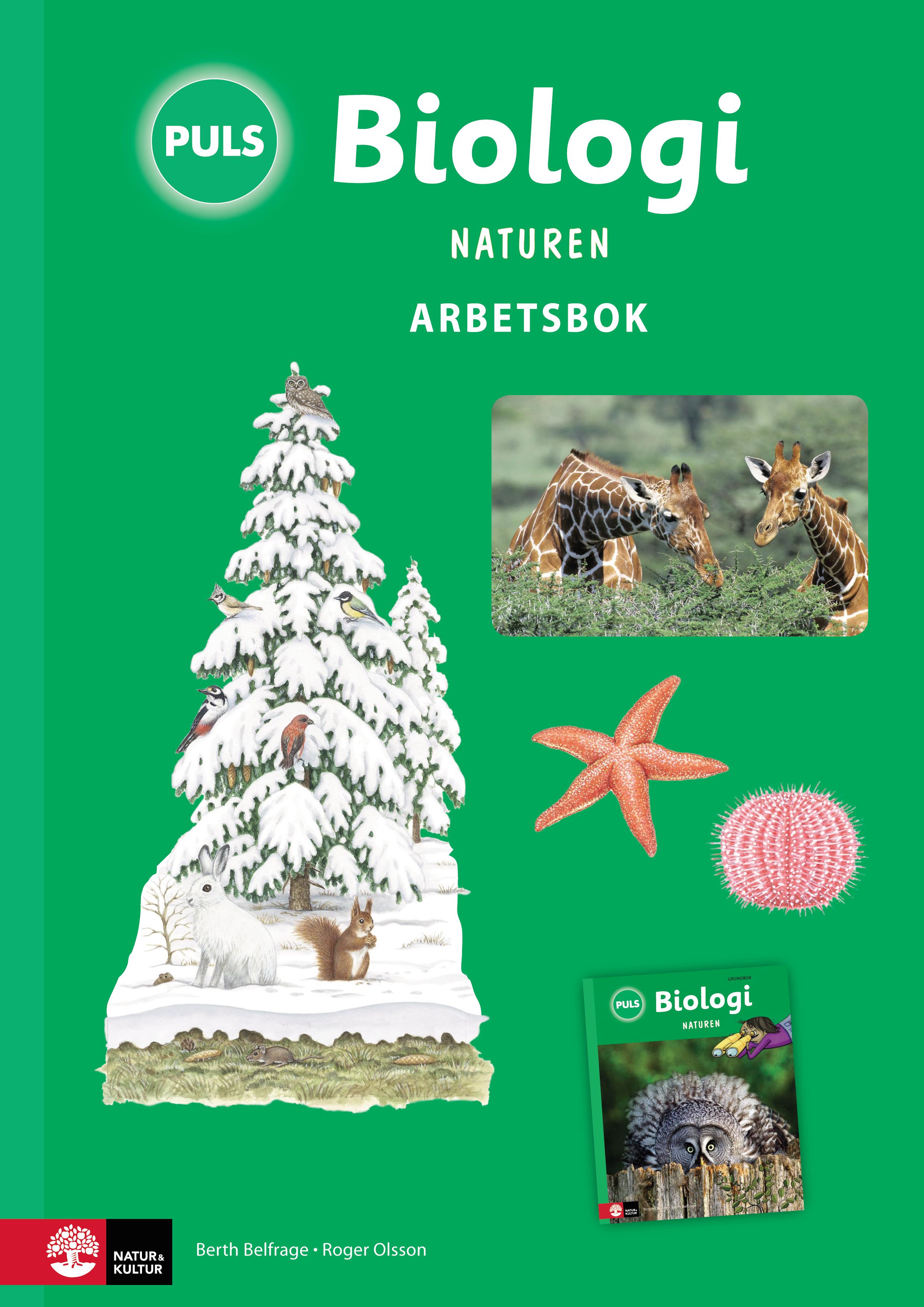 PULS Biologi 4-6 Naturen Tredje upplagan Arbetsbok