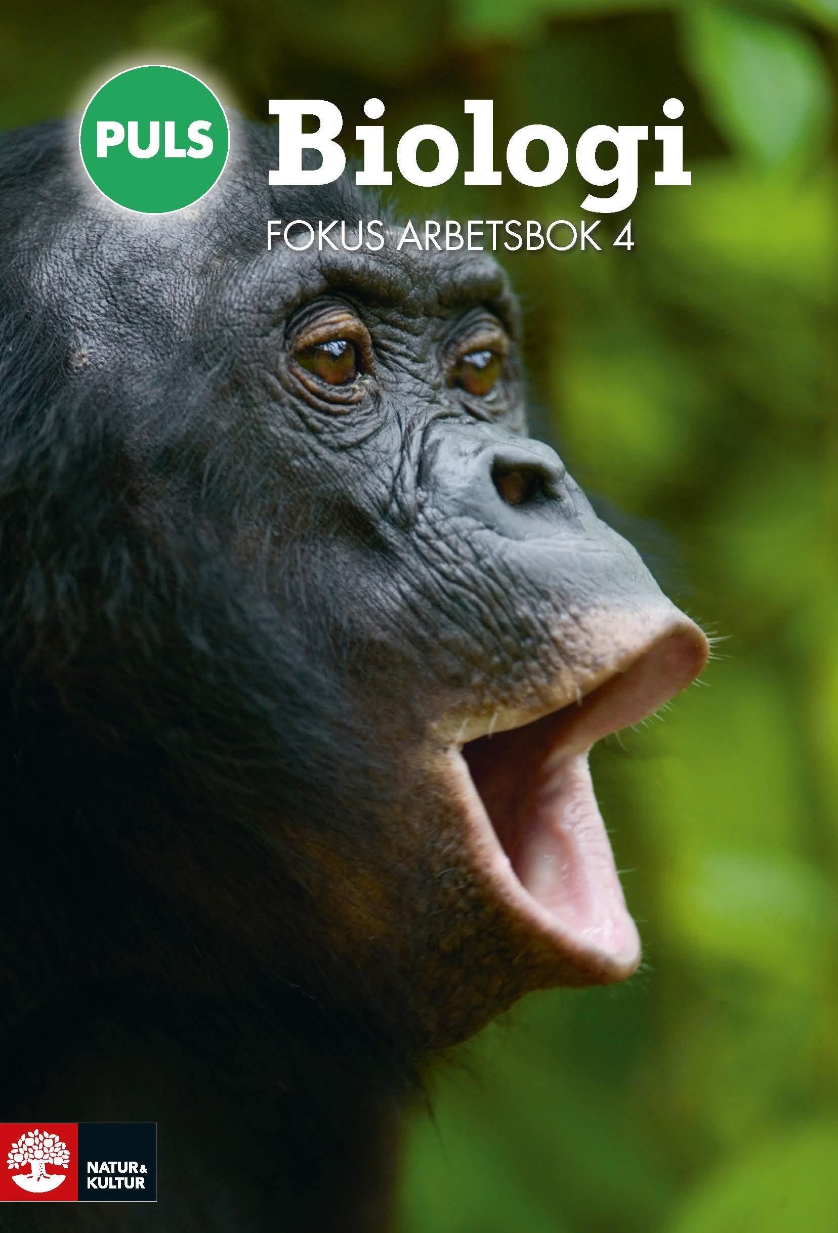 PULS Biologi 7-9 Fokus Arbetsbok 4, fjärde upplagan