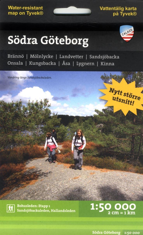 Södra Göteborg 1:50.000 2u