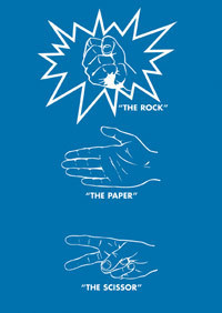 The total action game : rock - paper - scissor