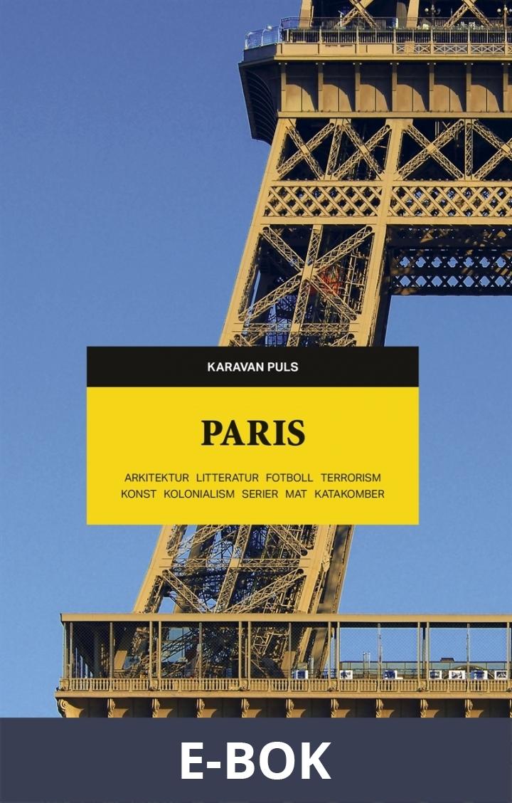 Paris. Arkitektur, litteratur, fotboll, terrorism, konst, kolonialism, serier, mat, katakomber, E-bok