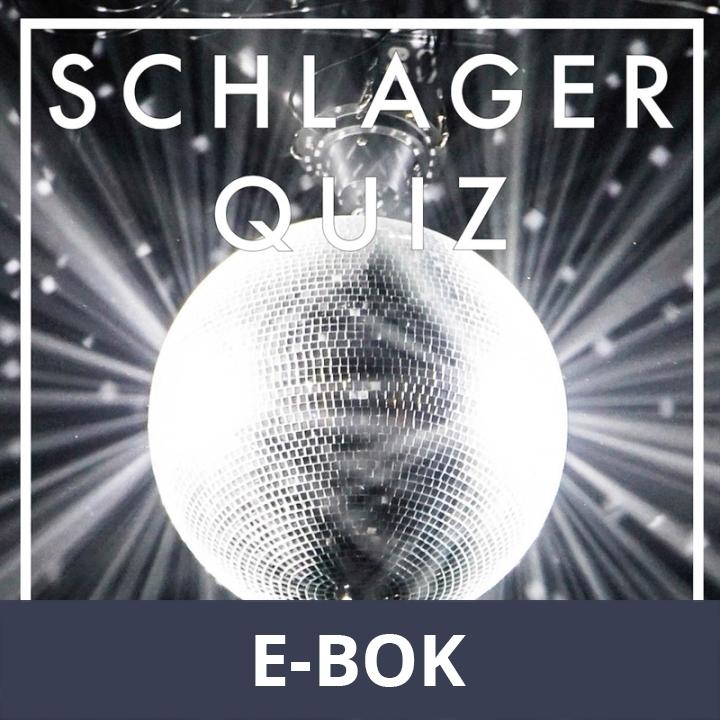 SCHLAGERQUIZ : 300 frågor om schlager (PDF), E-bok