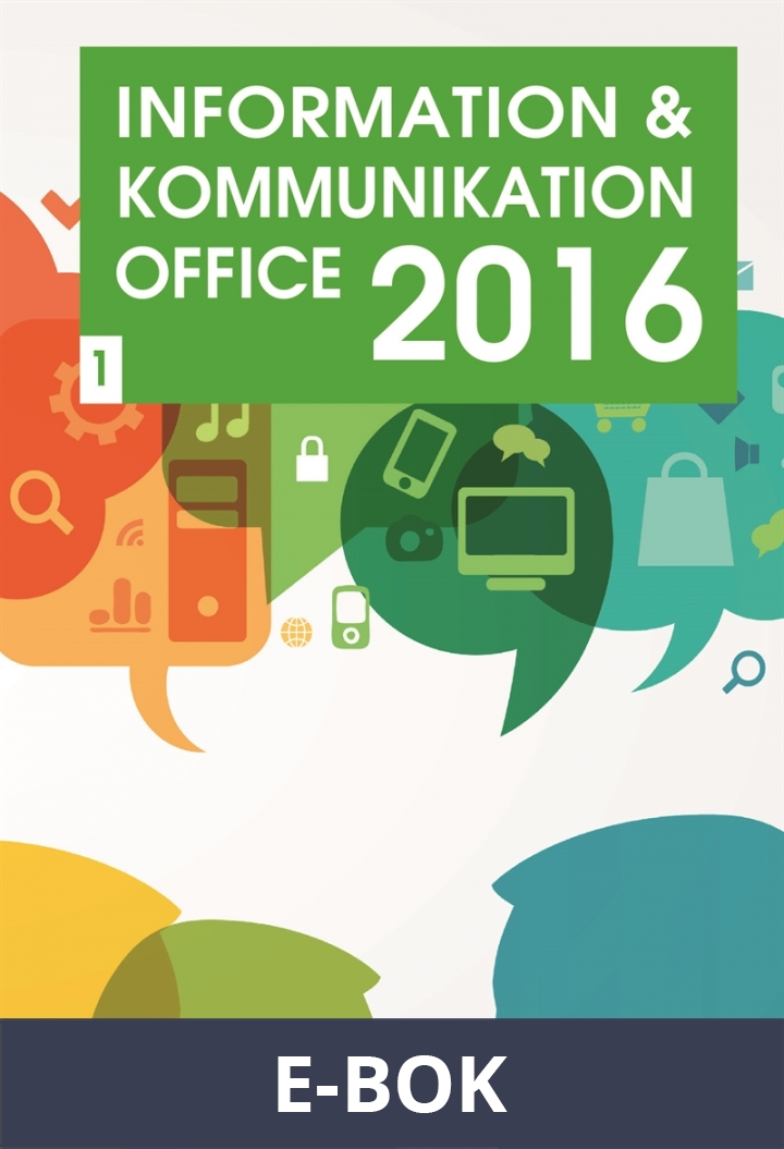 Information och kommunikation 1, Office 2016, E-bok