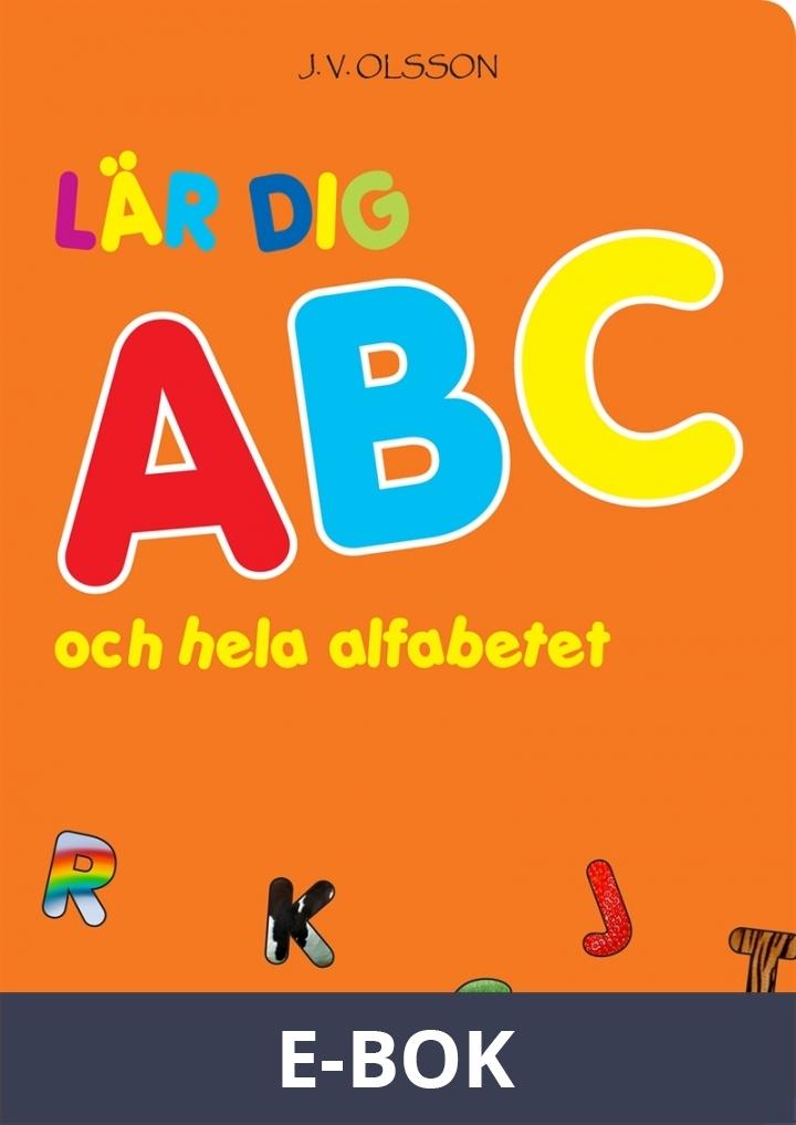 Lär dig ABC och hela alfabetet, E-bok