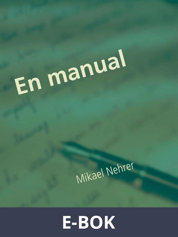 En manual: in manu medici, E-bok